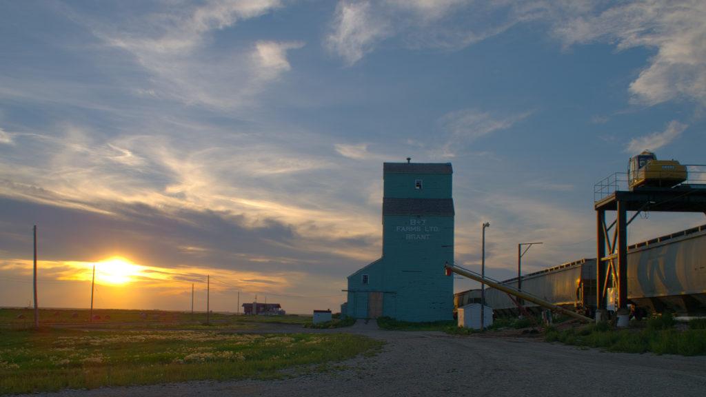 Brant Alberta Grain Elevator