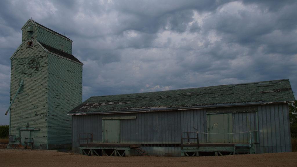 Edgerton Alberta Grain Elevator