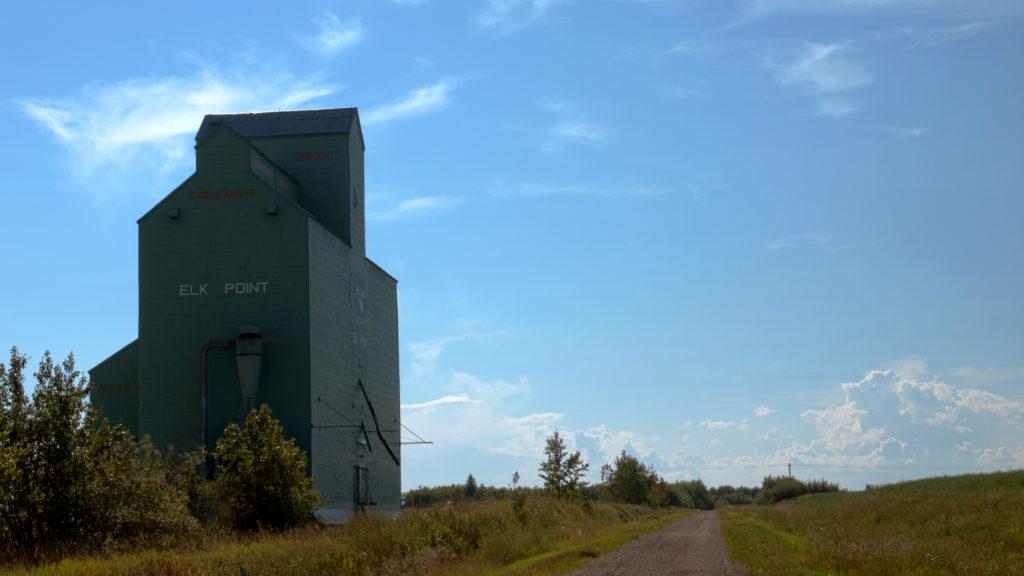 Elk Point Alberta Grain Elevator