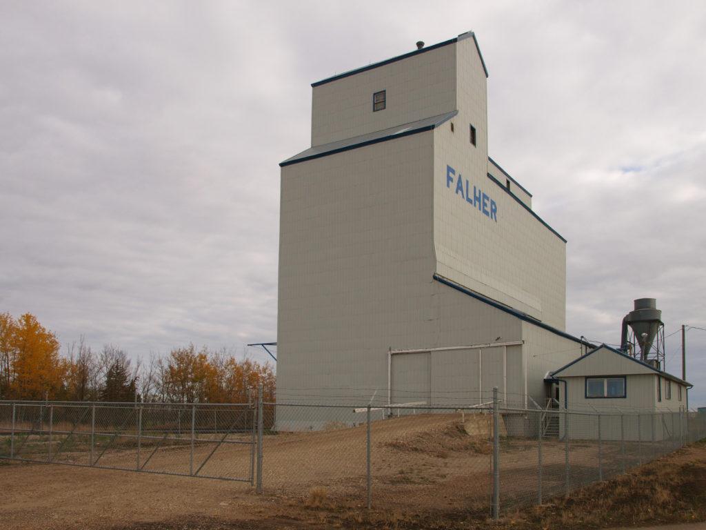Falher Alberta Grain Elevator