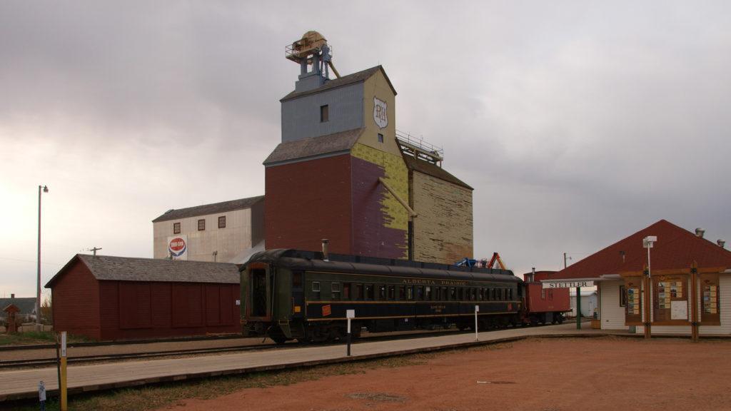 Stettler Alberta Grain Elevator