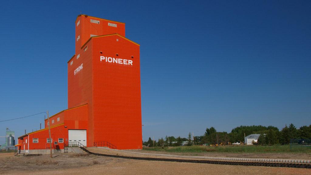 Strome Alberta Grain Elevator