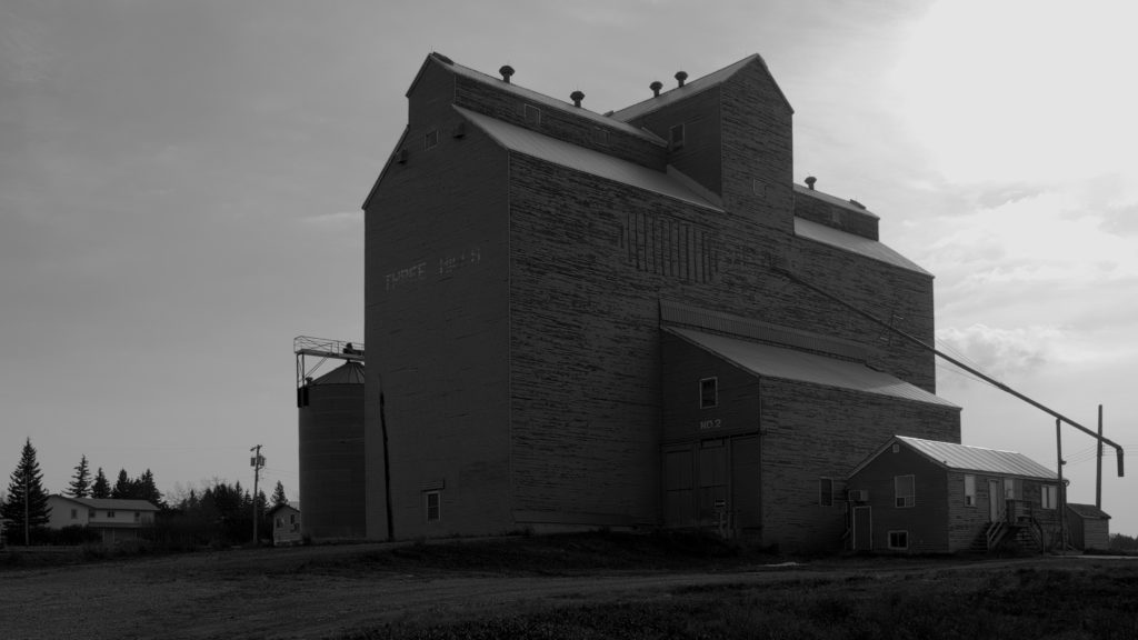 Three Hills Alberta Grain Elevator