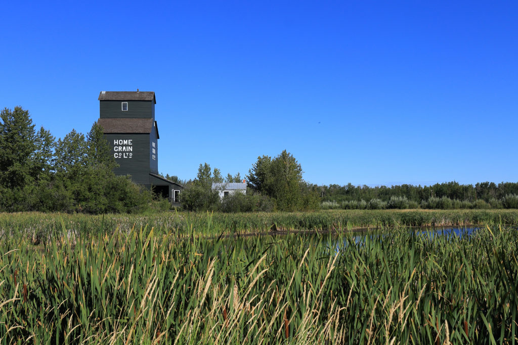 Ukrainian Cultural Heritage Village Alberta Grain Elevator