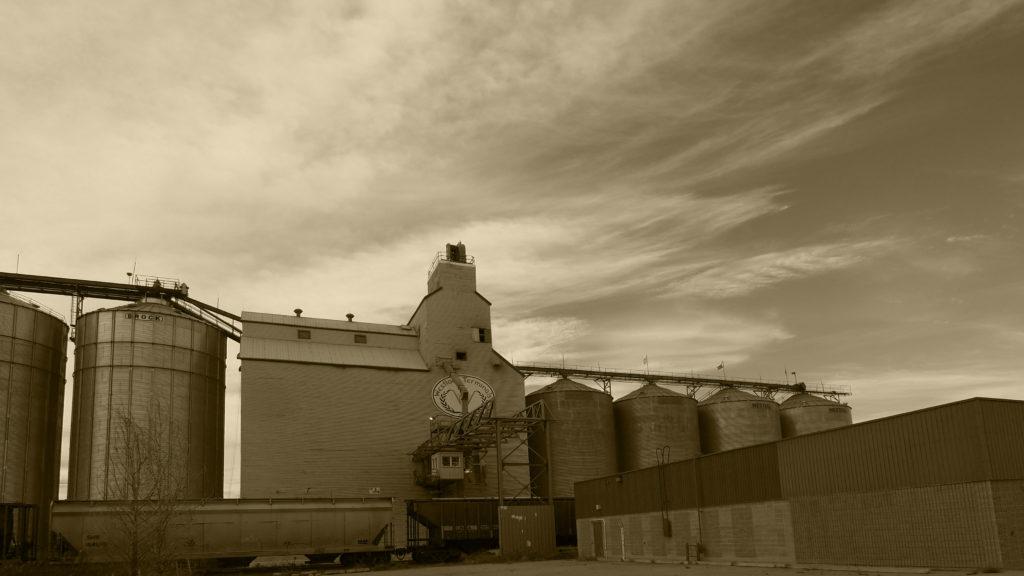 Westlock Alberta Grain Elevator
