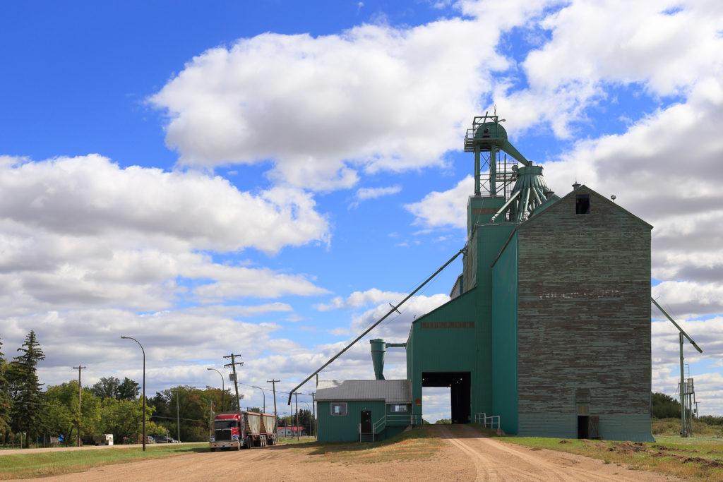 Willingdon Alberta Grain Elevator